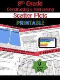 8th Grade Math Constructing & Interpreting Scatter Plots