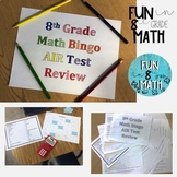 8th Grade Math AIR Test Review Bingo