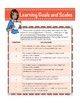 8th Grade Math Assessment with Learning Goals & Scales - Aligned to Common Core