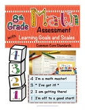 8th Grade Math Assessment with Learning Goals & Scales - A