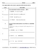 8th Grade Math Assessment with Learning Goals and Scales - EDITABLE