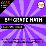 8th Grade Math Bundle (Part 1)