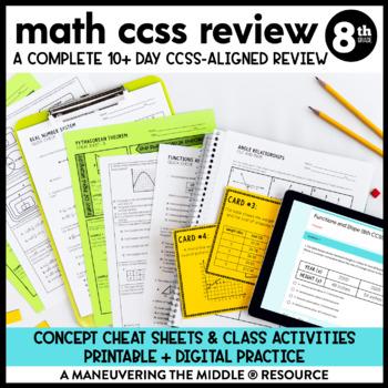 8th grade common core slope sample questions