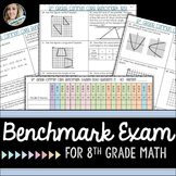 8th Grade Math Benchmark Exam