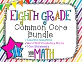 8th Grade Math Common Core Bundle! Everything You Need! *R