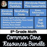 8th Grade Math Common Core Complete Resource Bundle