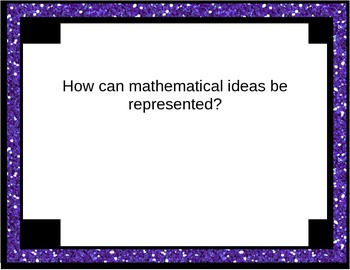 8th Grade Math Common Core Essential Questions Printout