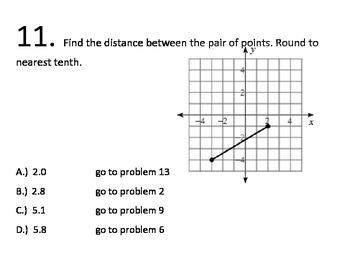 8th Grade Math Common Core Geometry Standards Maze