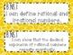 8th Grade Math Common Core *I Can Statements* Cheetah Print