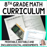 8th Grade Math Curriculum : A Completely Editable Curriculum