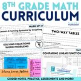 8th Grade Math Curriculum Bundle