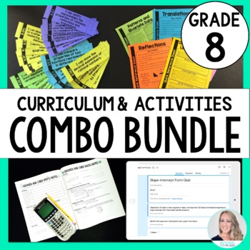 8th Grade Math Curriculum and Activities