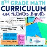 8th Grade Math Curriculum and Activities Bundle