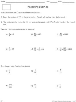 8th Grade Math Curriculum Differentiated Notes And Practice Bundle