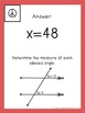 8th Grade Math Discovery and Hands-On Activities
