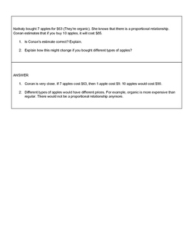 8th Grade Math End of Year Review Quiz Quiz Trade Cards