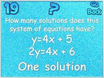 8th Grade Math End of the Year Review