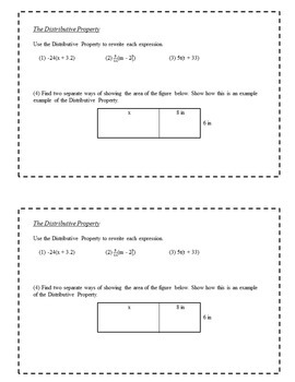 8th Grade Math Enrichment Task Cards - Multi-Step Equations and Inequalities
