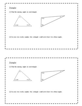 8th Grade Math Enrichment Task Cards - Two- and Three-Dimensional Geometry