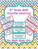 8th Grade Math Essential Questions
