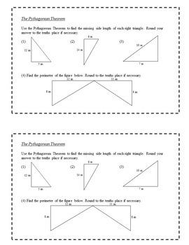 8th Grade Math Exit Slips Full Year Bundle