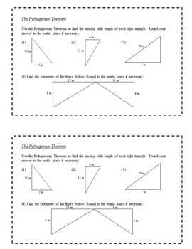 8th Grade Math Exit Slips Full Year Bundle