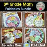 8th Grade Math Foldables
