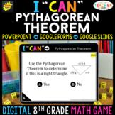 8th Grade Math Game DIGITAL | Pythagorean Theorem | Distan