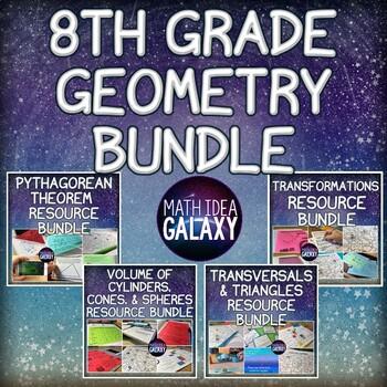 8th Grade Math Activities-Geometry