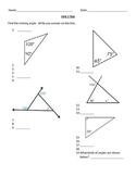 8th Grade Math Geometry Unit Test