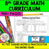 8th Grade Math Guided Notes