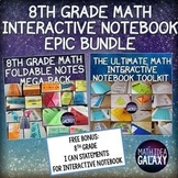 8th Grade Math Interactive Notebook Bundle