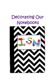 8th Grade Math Intro to Individual Student Notebook - ISN