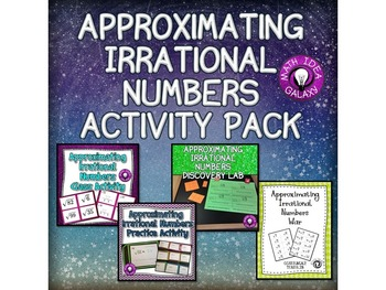 8th Grade Math Number Sense Activity Bundle