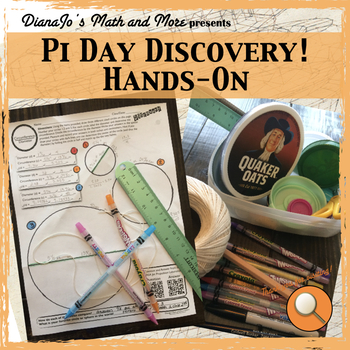 8th Grade Math Pi Day Discovery - A Hands On Activity