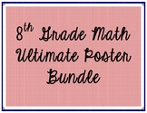 8th Grade Math Poster Bundle
