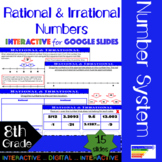 Rational & Irrational Numbers for Google Classroom/ Distan