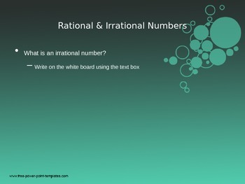 8th Grade Math - Rational and Irrational Numbers