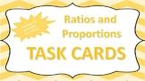 8th Grade Math: Ratios and Proportions Task Cards