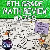 8th Grade Math Review Digital Resource