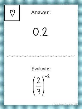 8th Grade Math Review Activity - Scavenger Hunt