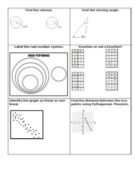 8th Grade Math STAAR Review 2