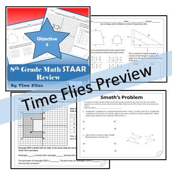 8th Grade Math TEKS Review Bundle