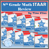 8th Grade Math STAAR Review Bundle