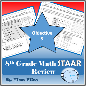 8th Grade Math STAAR Review - Objective 5