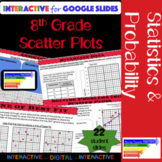 8th Grade Math Scatter Plot Interactive for Google Slides