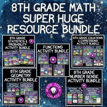 8th Grade Math Activities