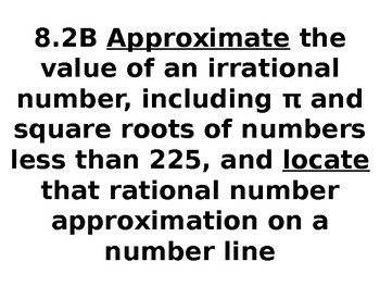 8th Grade Math TEKS