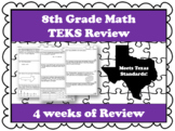 8th Grade Math TEKS Review (Updated)!