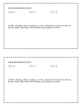 8th Grade Math Task Cards Full Year Bundle